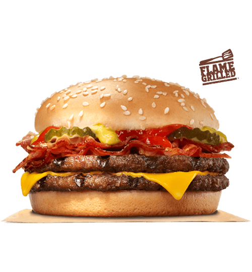 Bacon Double Cheeseburger | BURGER KING®