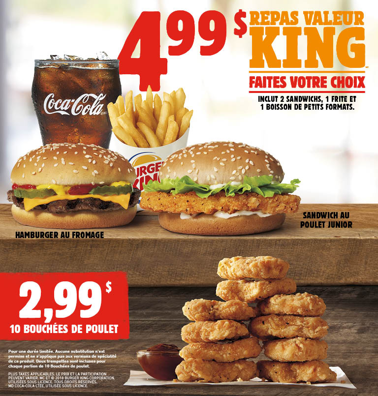burger king get fresh offers 2 for 5. Black Bedroom Furniture Sets. Home Design Ideas