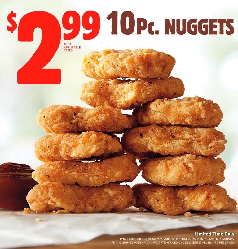 BURGER KING® Get Fresh Offers 2 For $5