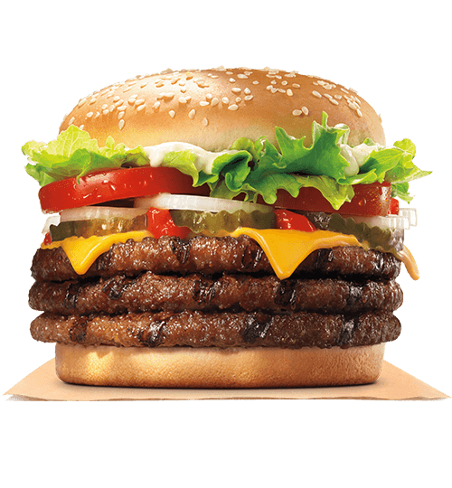Carte Burger King Le Mans.Hamburgers Burger King