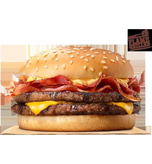 bk double stacker burger king