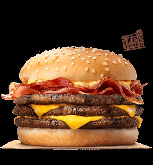 bk triple stacker burger king