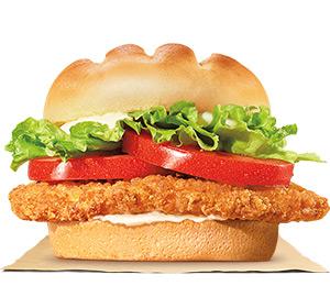 burger king chicken parmesan sandwich canada
